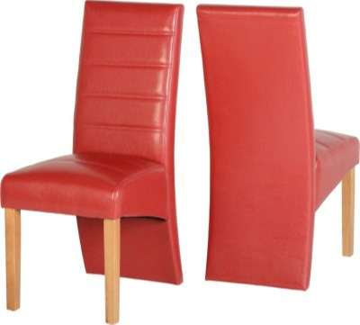 G5 Chair Red Faux Leather