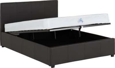 "Prado Plus 4'6"" Storage Bed"