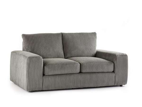 Champion 2 Seater Sofa Jumbo Cord Charcoal