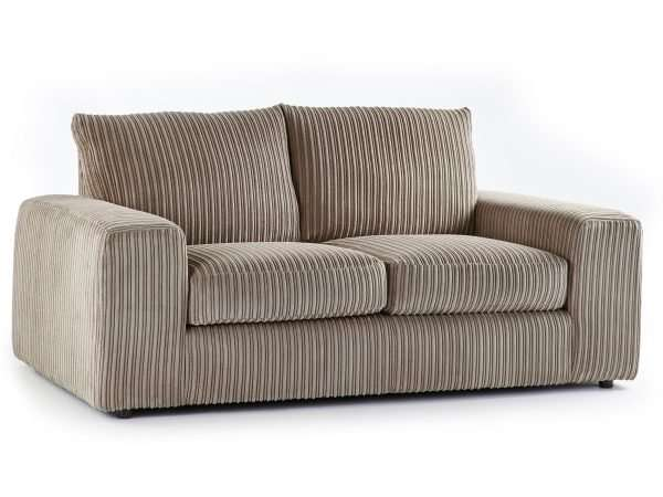 Champion 2 Seater Sofa Jumbo Cord Coffee