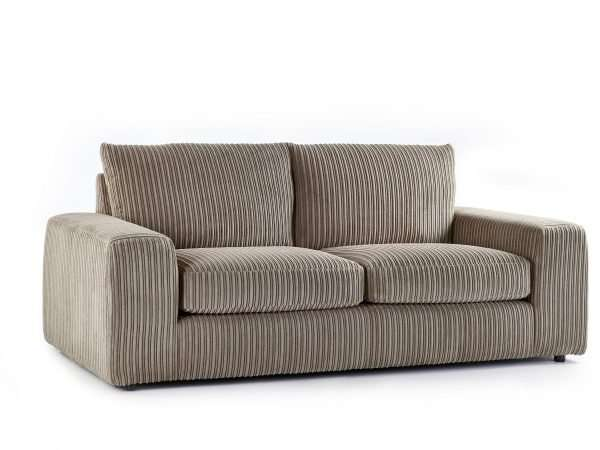 Champion 3 Seater Sofa Jumbo Cord Coffee
